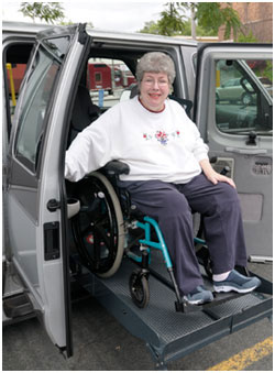 Photo of Women in wheelchair